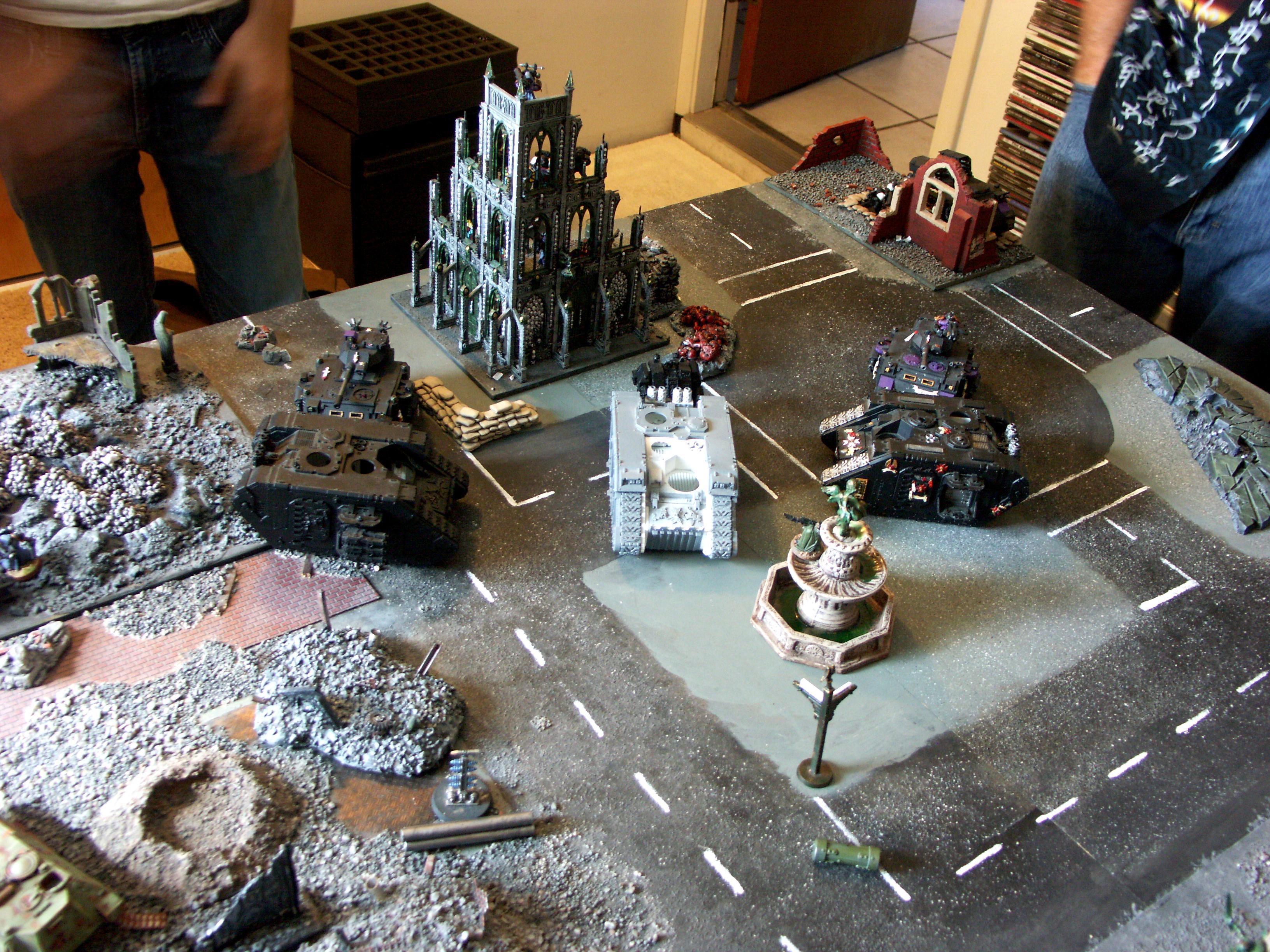 Apocalypse, Battle, Battle Report, Black Templars, Chaos, Chaos Space Marines, Dark Eldar, De, Imperial Guard, Orks, Space Marines, Space Wolves