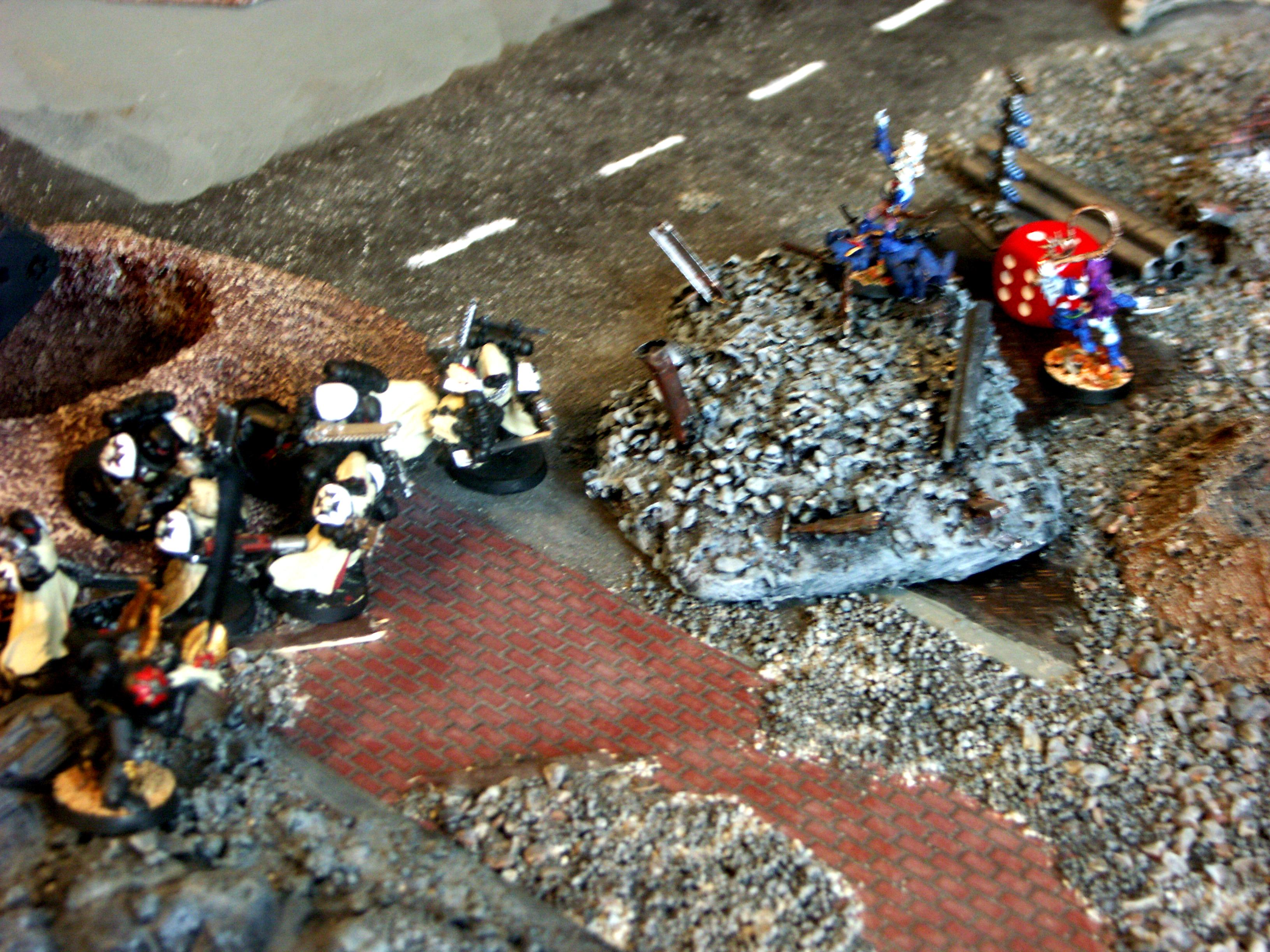 Apocalypse, Battle, Battle Report, Black Templars, Chaos, Chaos Space Marines, Dark Eldar, De, Imperial Guard, Orks, Space Marines, Space Wolves