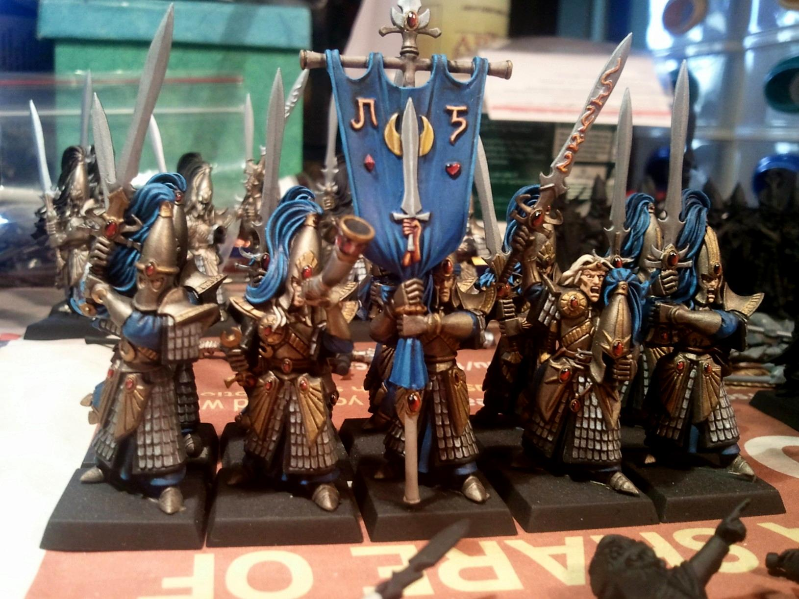 High Elves, Sword Masters, Warhammer Fantasy, Wfb