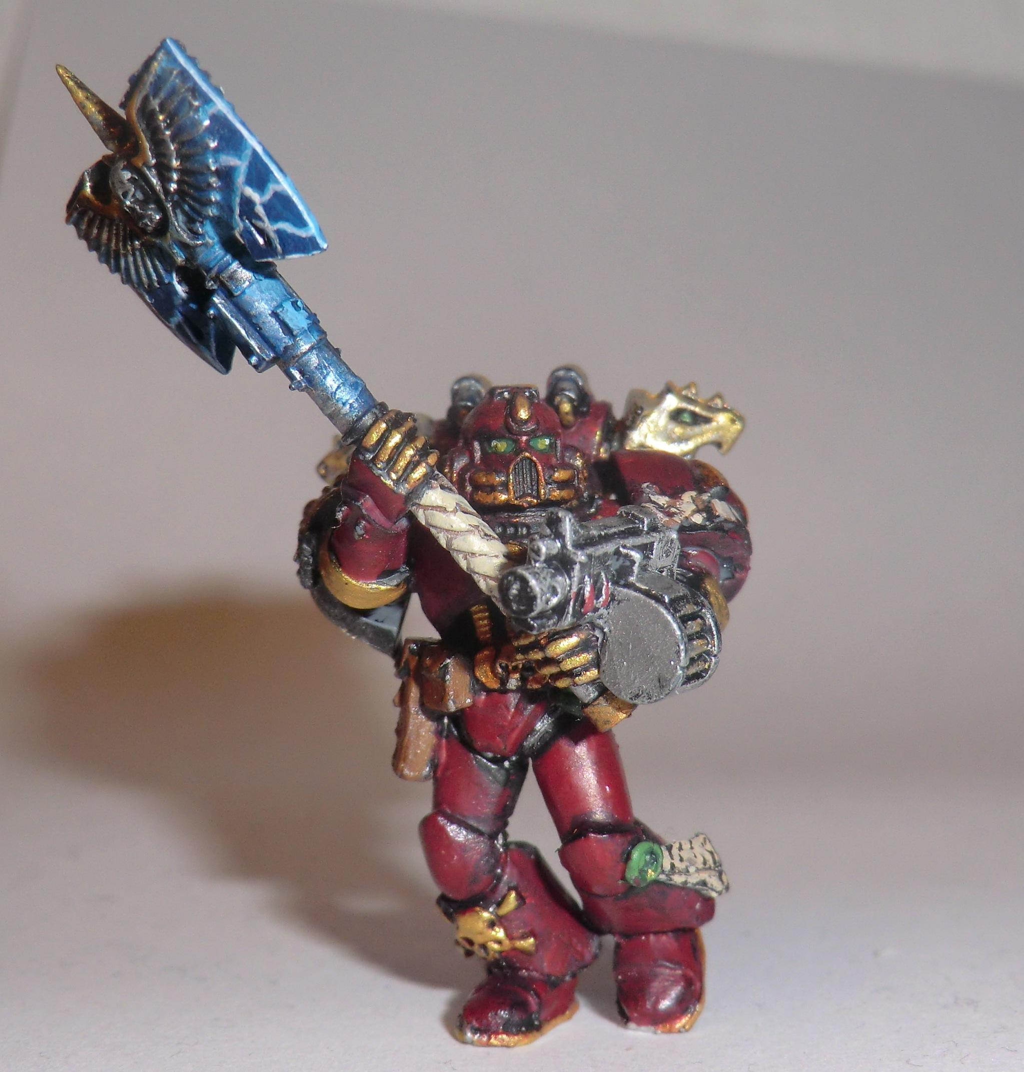 Captain, Object Source Lighting, Space Marines, Warhammer 40,000