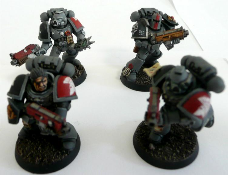 Do-it-yourself, Pro-painted, Space Marines