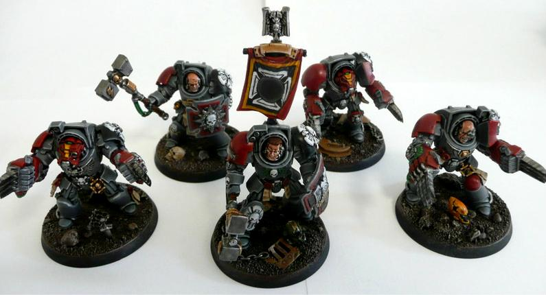 Do-it-yourself, Pro-painted, Space Marines, Terminator Armor