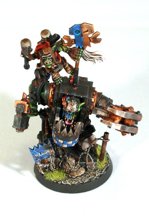 Mega Armor, Nob, Space Ork