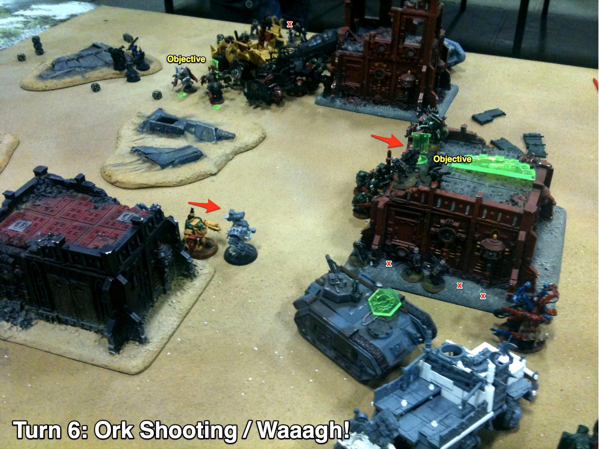 Battle Report, Da Ork Angelz, Imperial Guard, Malfian Ivth, Orks