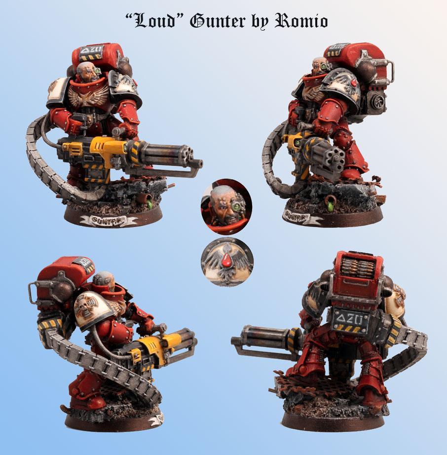 Assault Cannon, Blood Ravens, Conversion, Gunter, Heavy Guy, Minigun, Scratch Build, Space Marines, Veteran, Warhammer 40,000