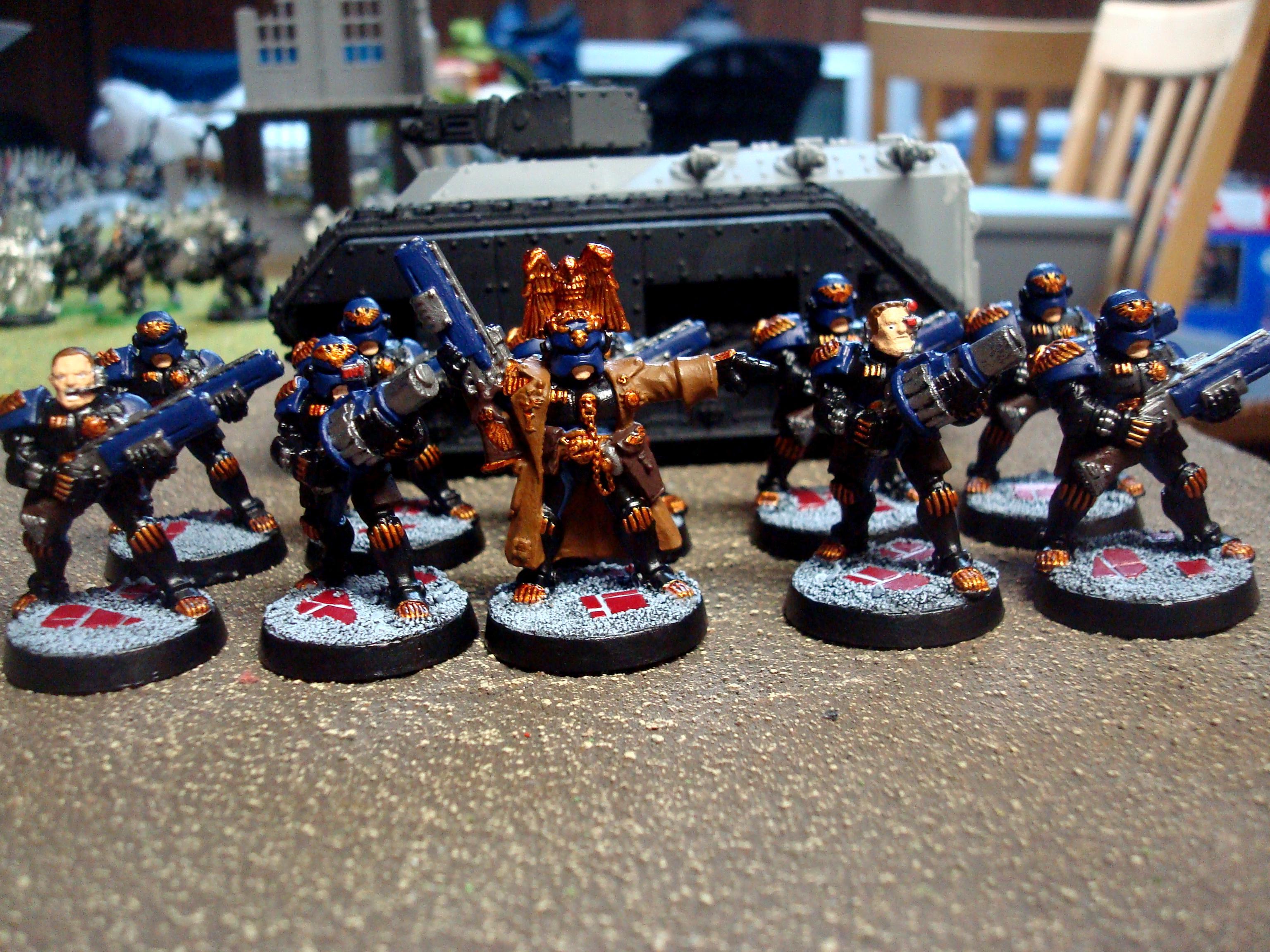 Adeptus Arbites, Adeptus Arbites Army