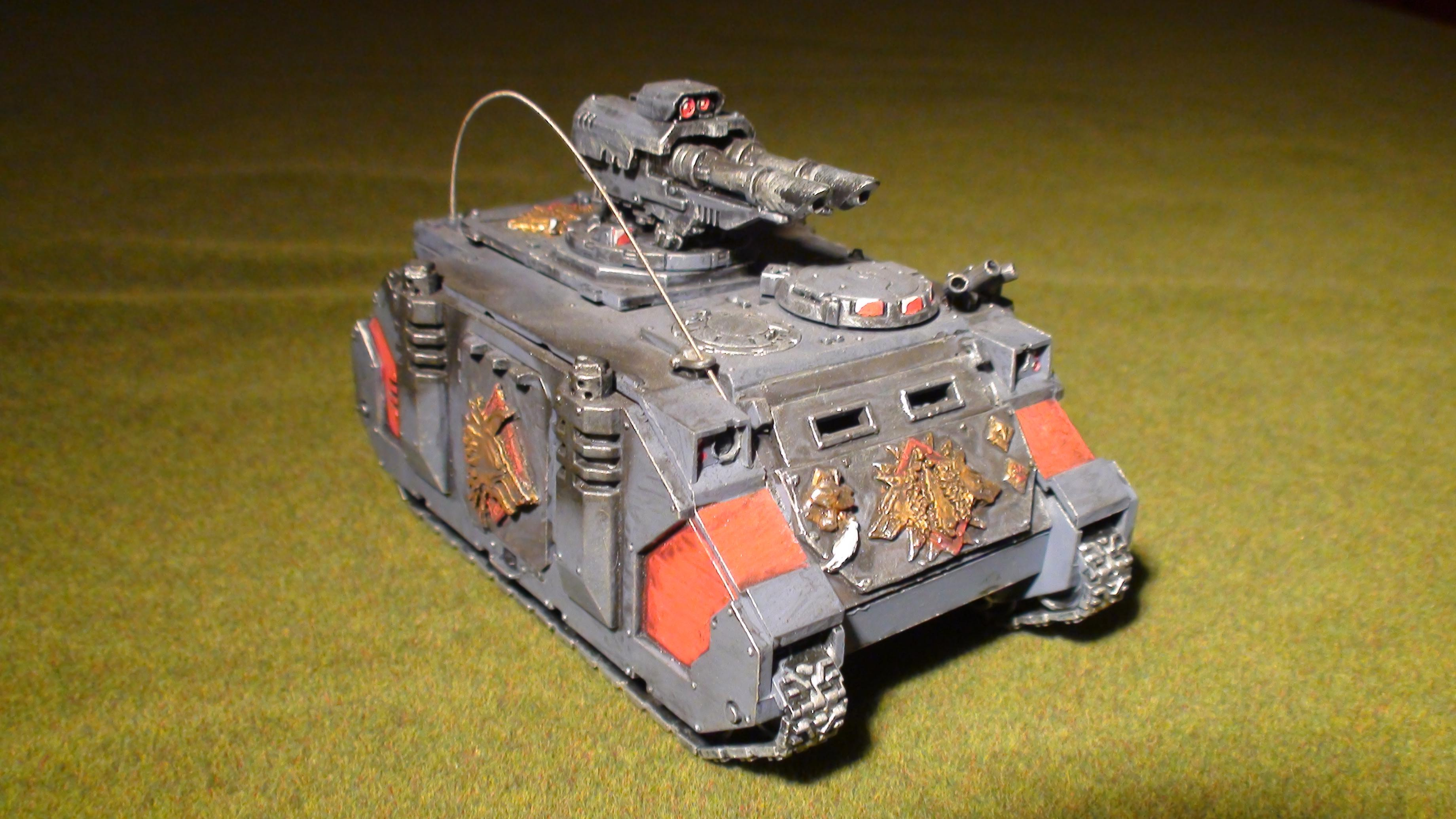 Space Marines, Space Wolves, Tank, Vehicle, Warhammer 40,000