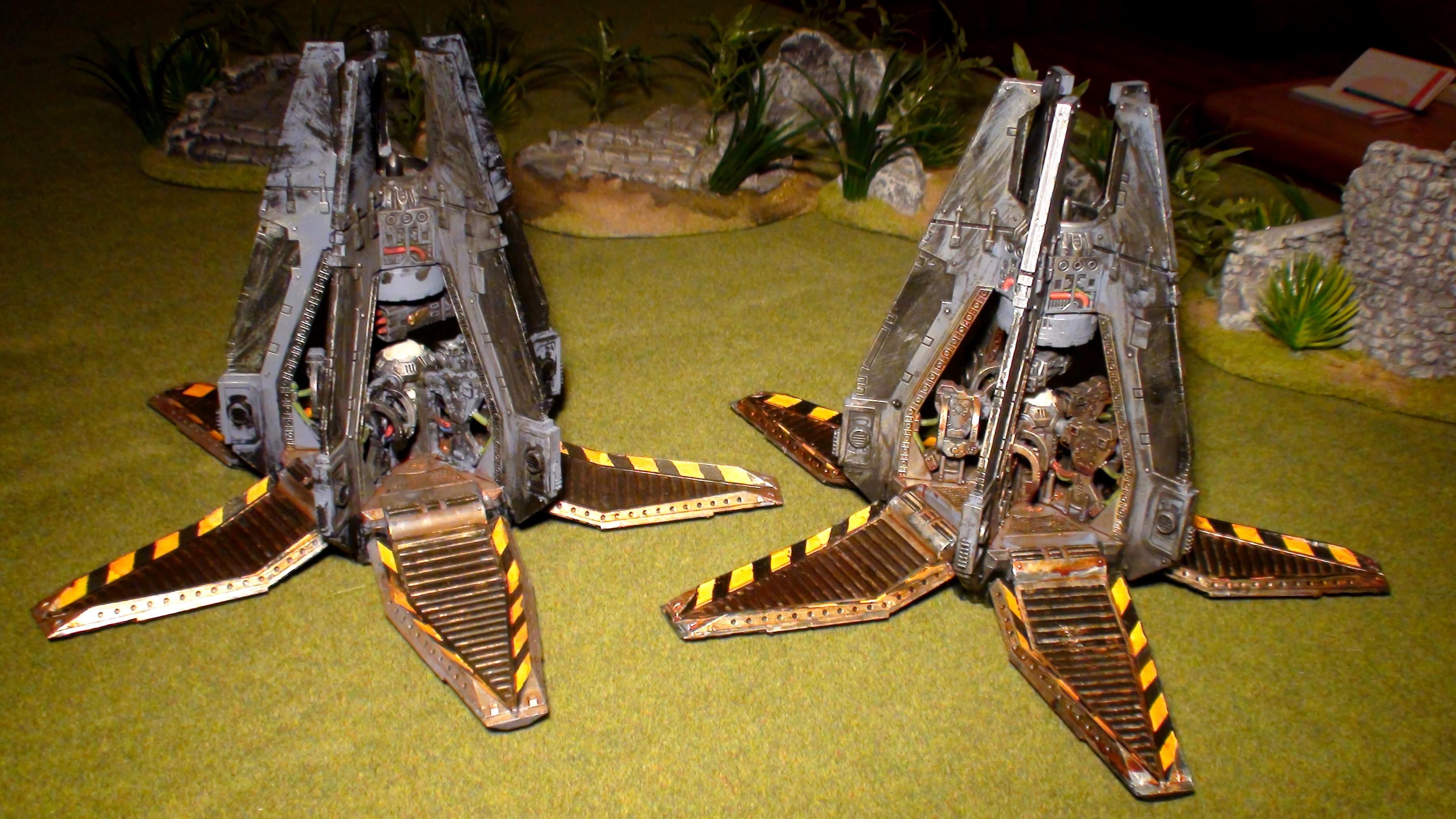 Drop Pod, Space Wolves, Warhammer 40,000