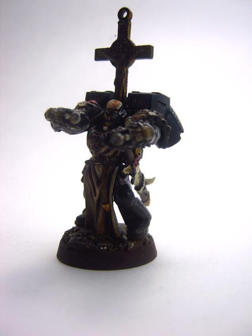 Black Templars, Chaplain, Conversion, Custom Chapter, Kitbash, Knights, Space Marines