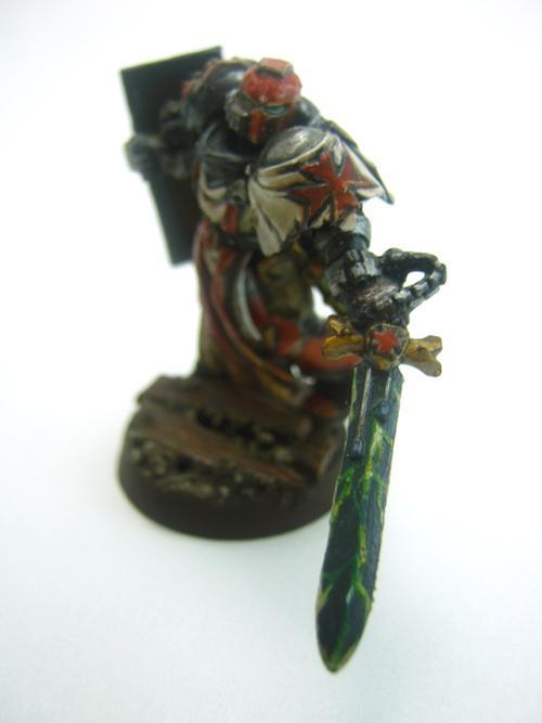 Black Templars, Conversion, Counts As, Kitbash, Space Marines, Vulkan He'stan