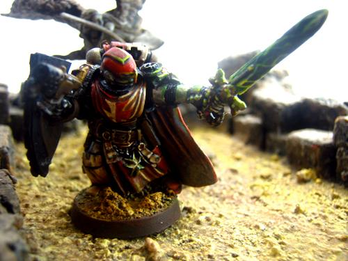 Black Templars, Conversion, Counts As, Custom Chapter, Freehand, Kitbash, Knights, Object Source Lighting, Power Sword, Power Weapon, Scratch Build, Space Marines, Templar, Terrain, Vulkan He'stan