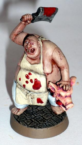 Chef, Cleaver, Dungeons And Dragons, Pig's Head