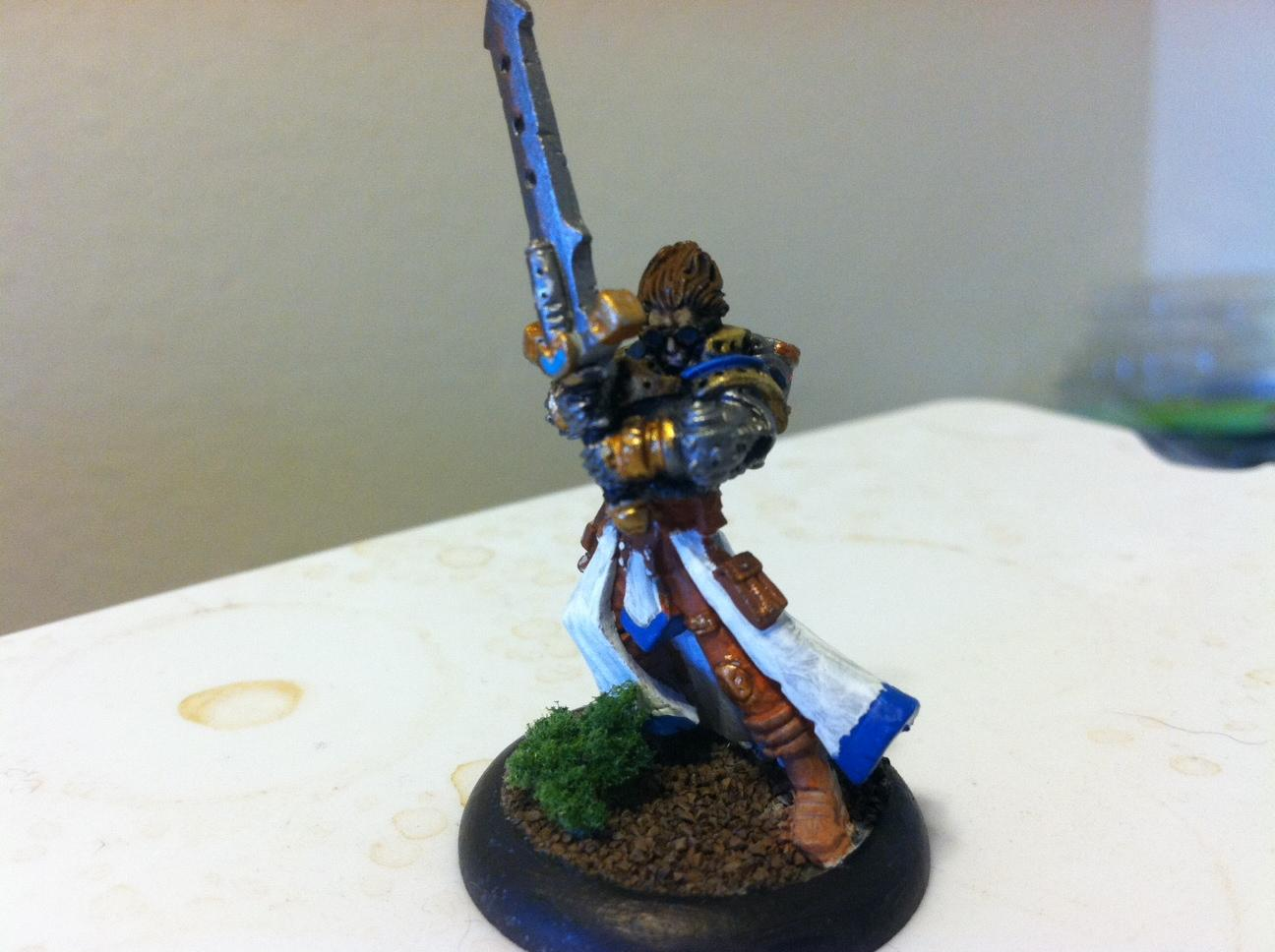 first warcaster done