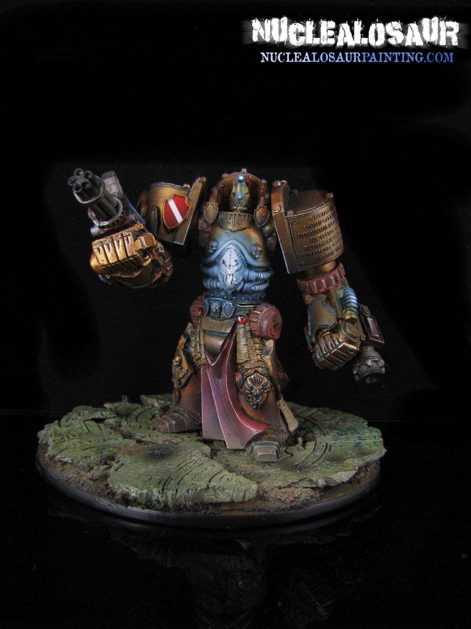 Adeptus Custodeus, Dreadknight, Dreadnought