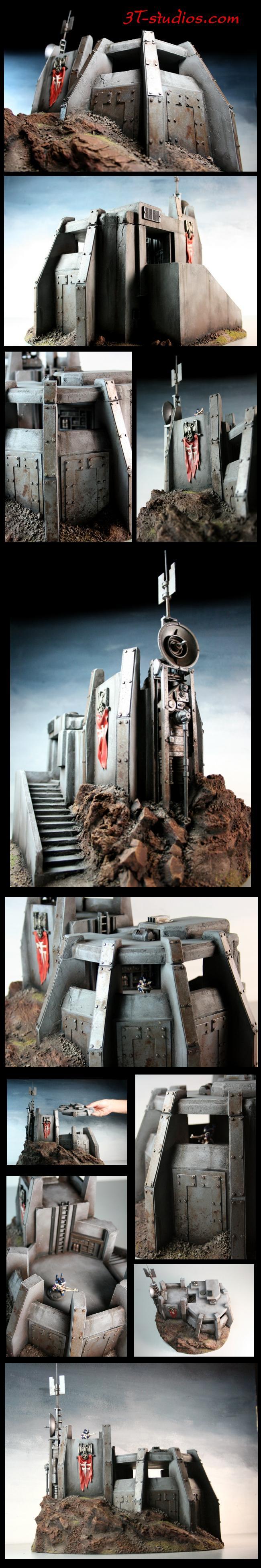 Bunker, Imperial, Terrain