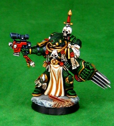 Dark Angels, Space Marines, Veteran, Warhammer 40,000
