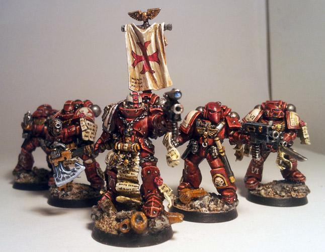 Crmson Templars, Space Marines, Templars, True Scale