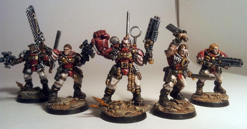 Crimson Templars, Scouts, Space Marines, Templars
