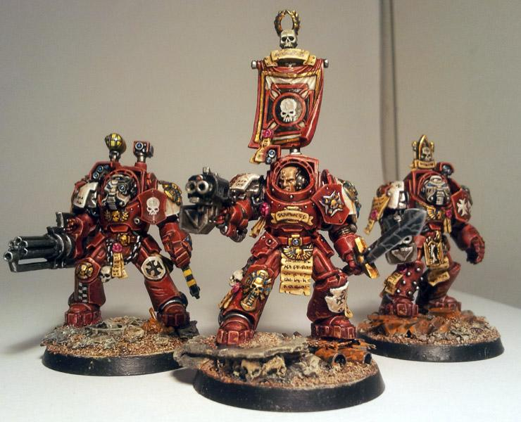 Blood Angels, Crimson Templars, Space Hulk, Space Marines, Terminator Armor