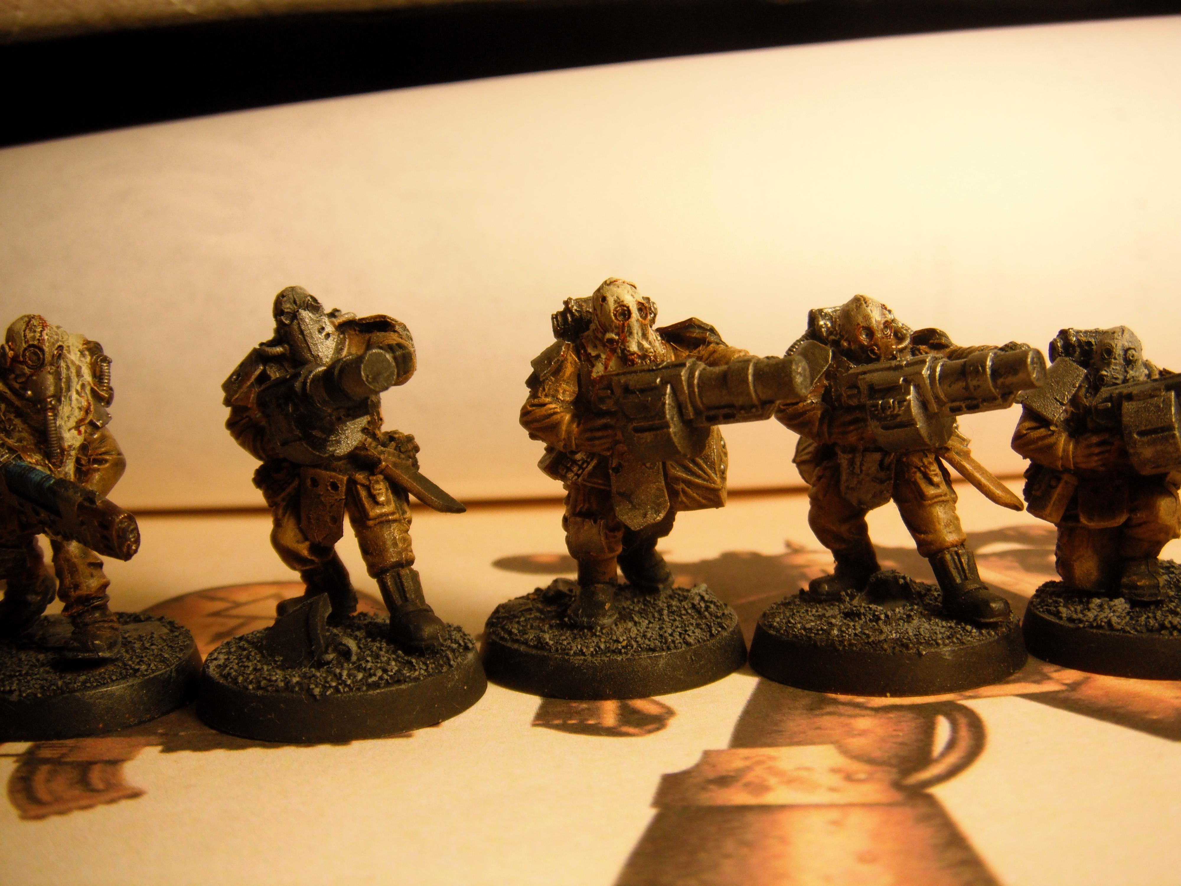 Chaos, Chaos Cultists, Chaos Guard, Conversion, Lost And The Damned, Servants Of Decay, Traitor Guard, Vraks Militia