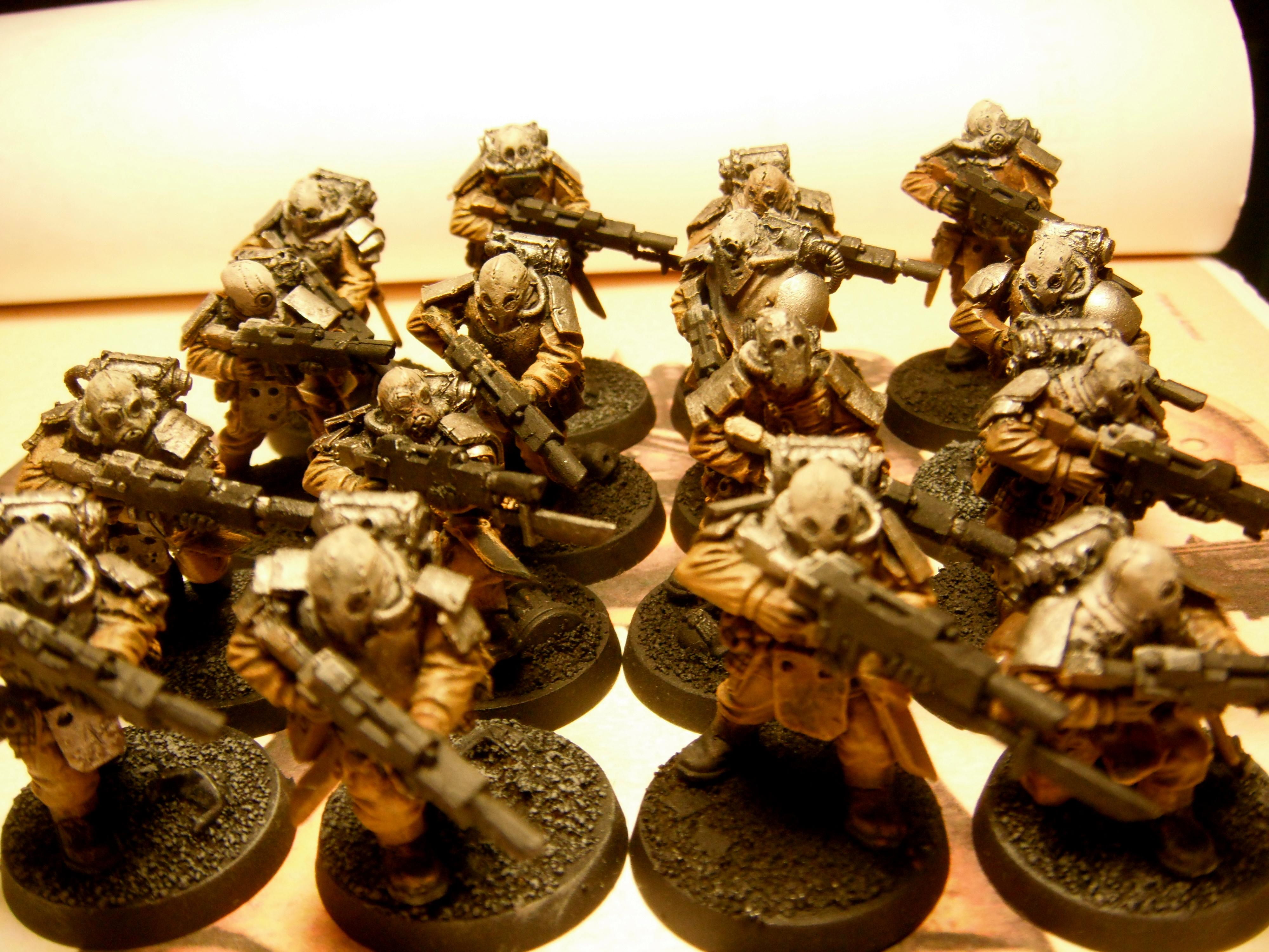 Apostles Of Contagion, Chaos, Chaos Guard, Conversion, Lost And The Damned, Servants Of Decay, Traitor Guard, Vraks Militia