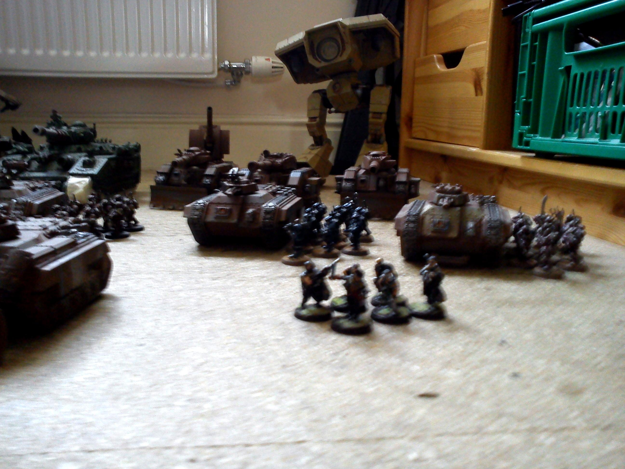 Army, Imperial Guard, Mechanised, Titan, Warhammer 40,000, Work In Progress