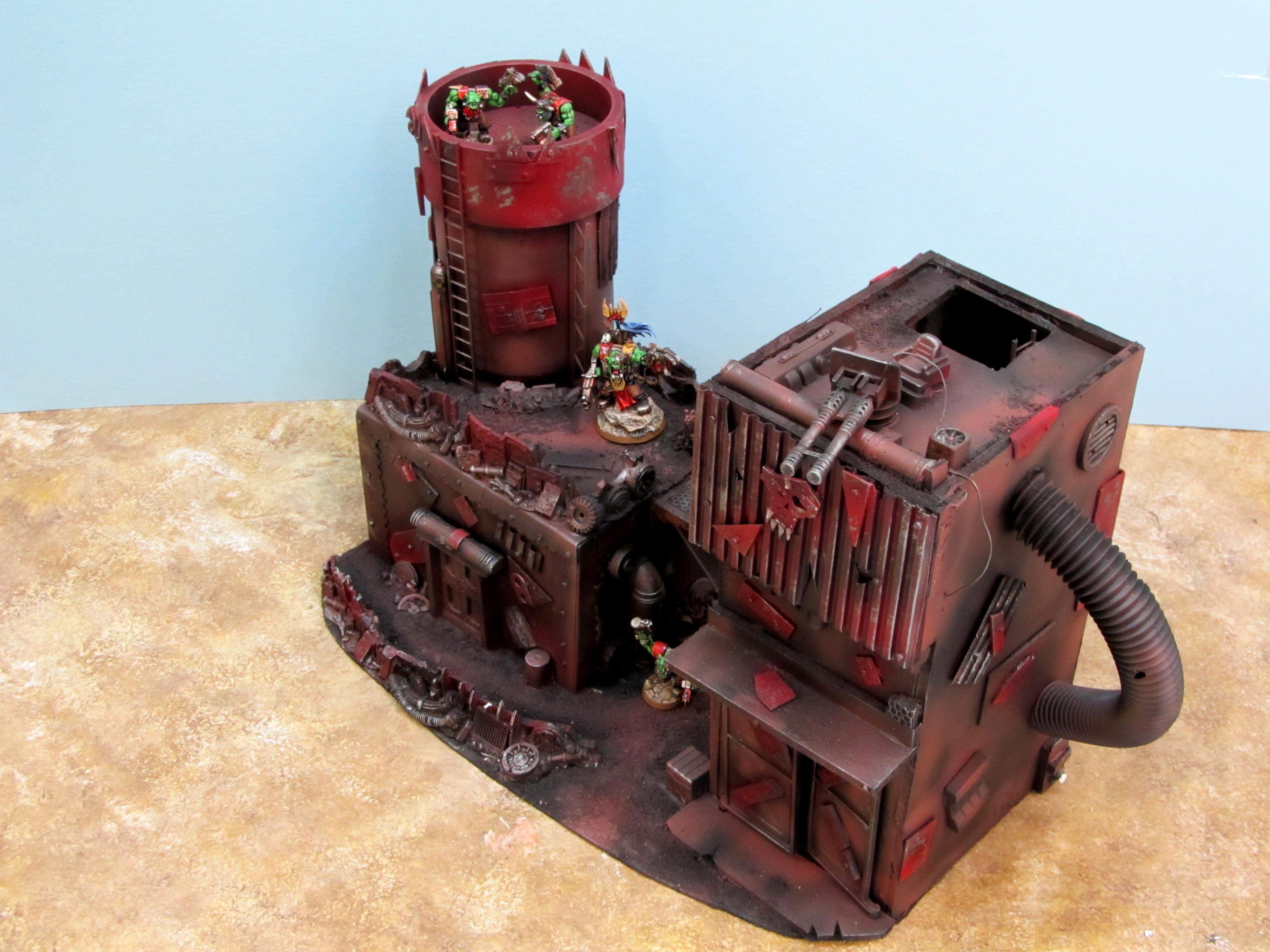 Base, Buildings, Fort, Orks, Structure, Terrain