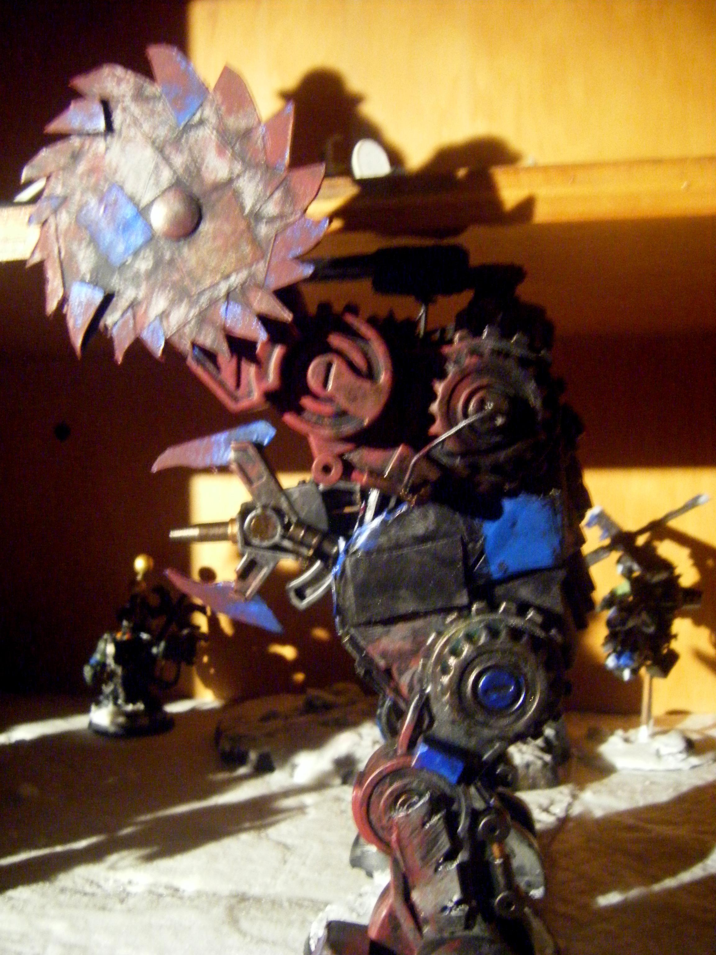 Conversion, Deathskulls, Deff Dread, Deffskulls, Green, Orks, Waaagh