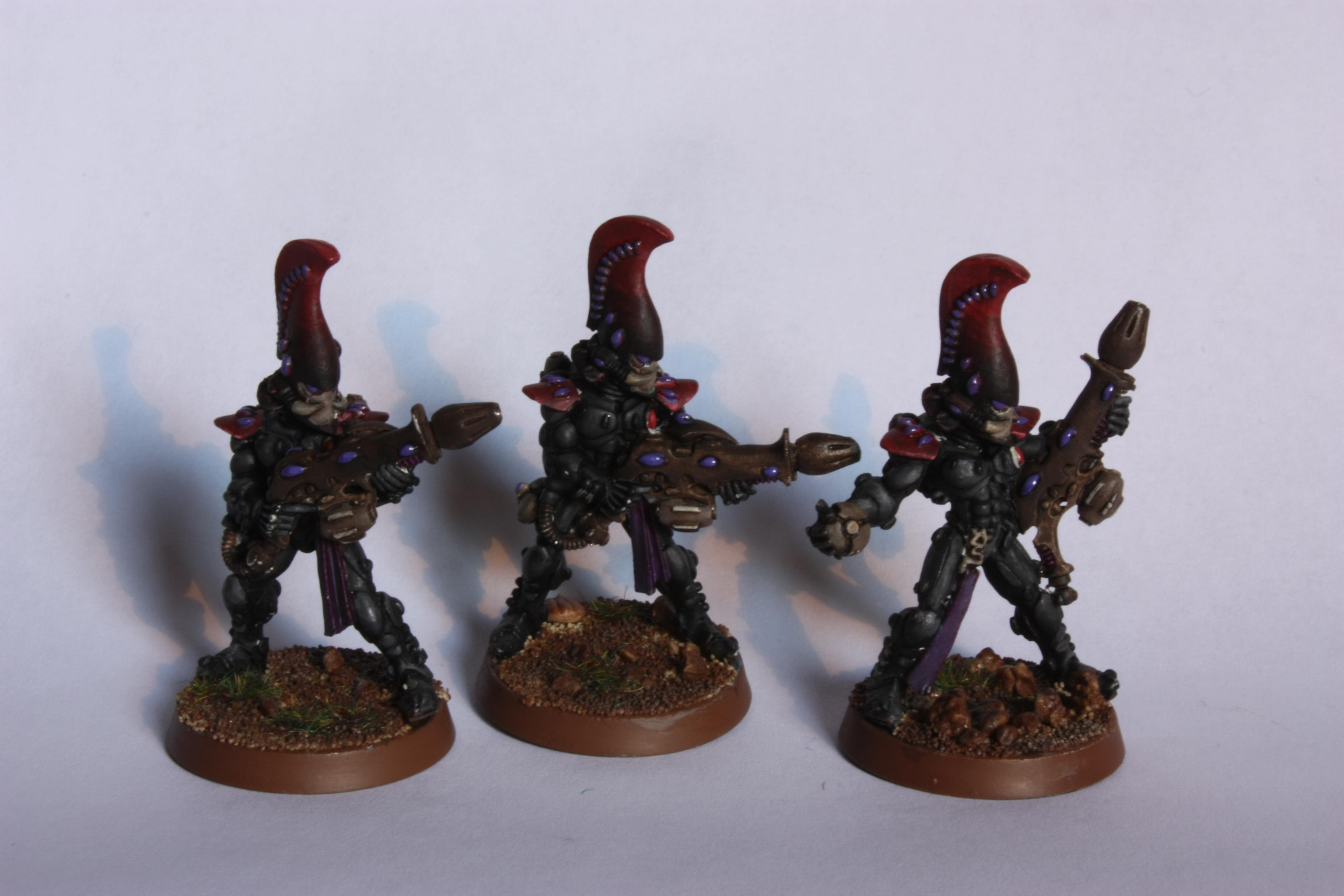 Eldar, Fire Dragon, Wip Fire Dragon Squad