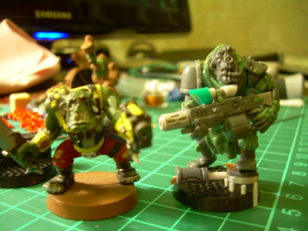 Conversion, Space Orcs, Templars, Warhammer 40,000