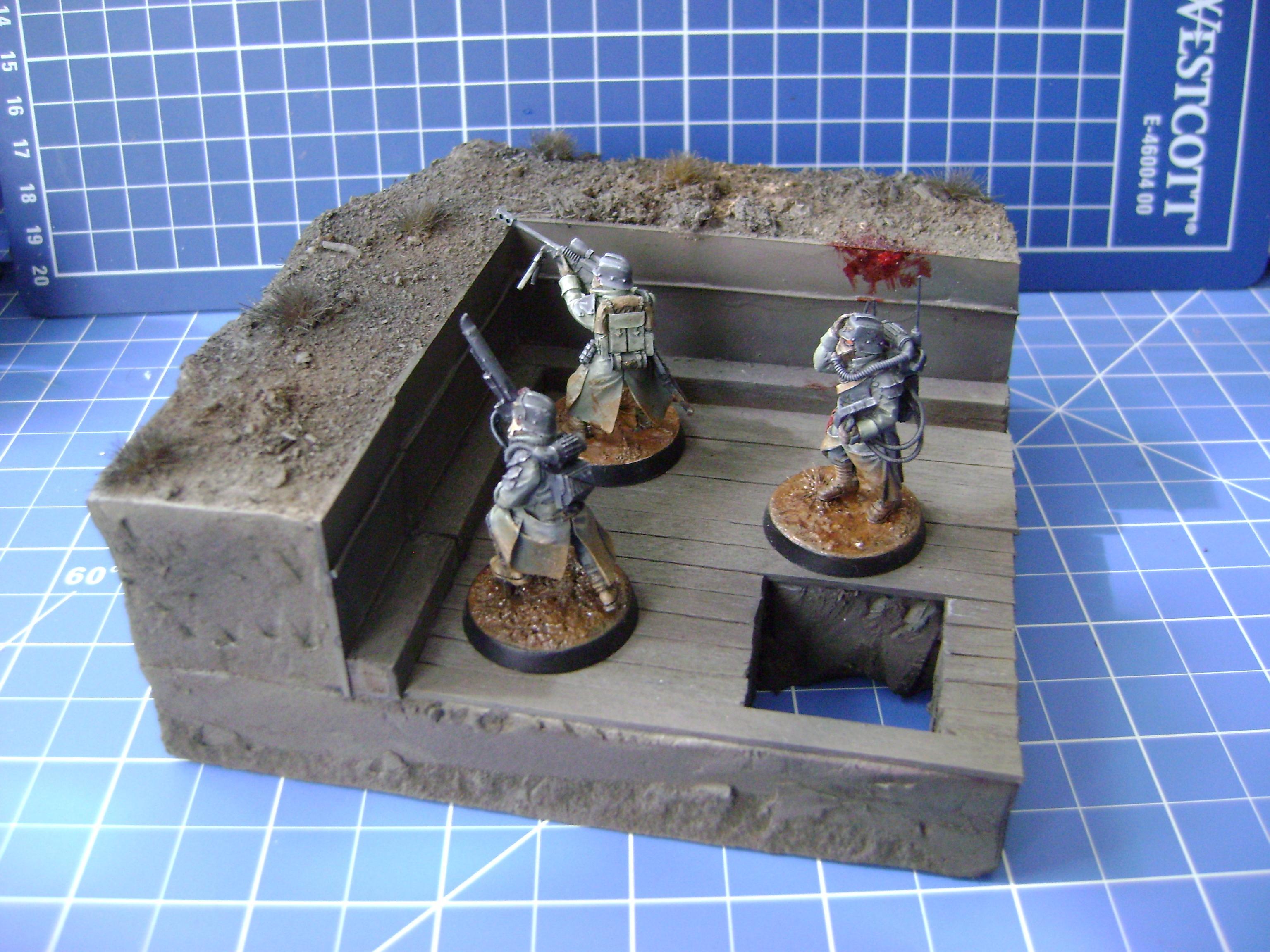 Death Korps of Krieg, Trench, Warhammer 40,000