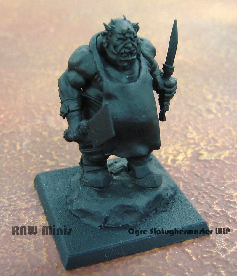 Butcher, Conversion, Ogres, Slaughermaster, Warhammer Fantasy, Work In Progress