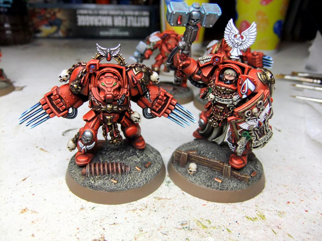 Blood Angels, Close Combat, Space Hulk, Terminator Armor