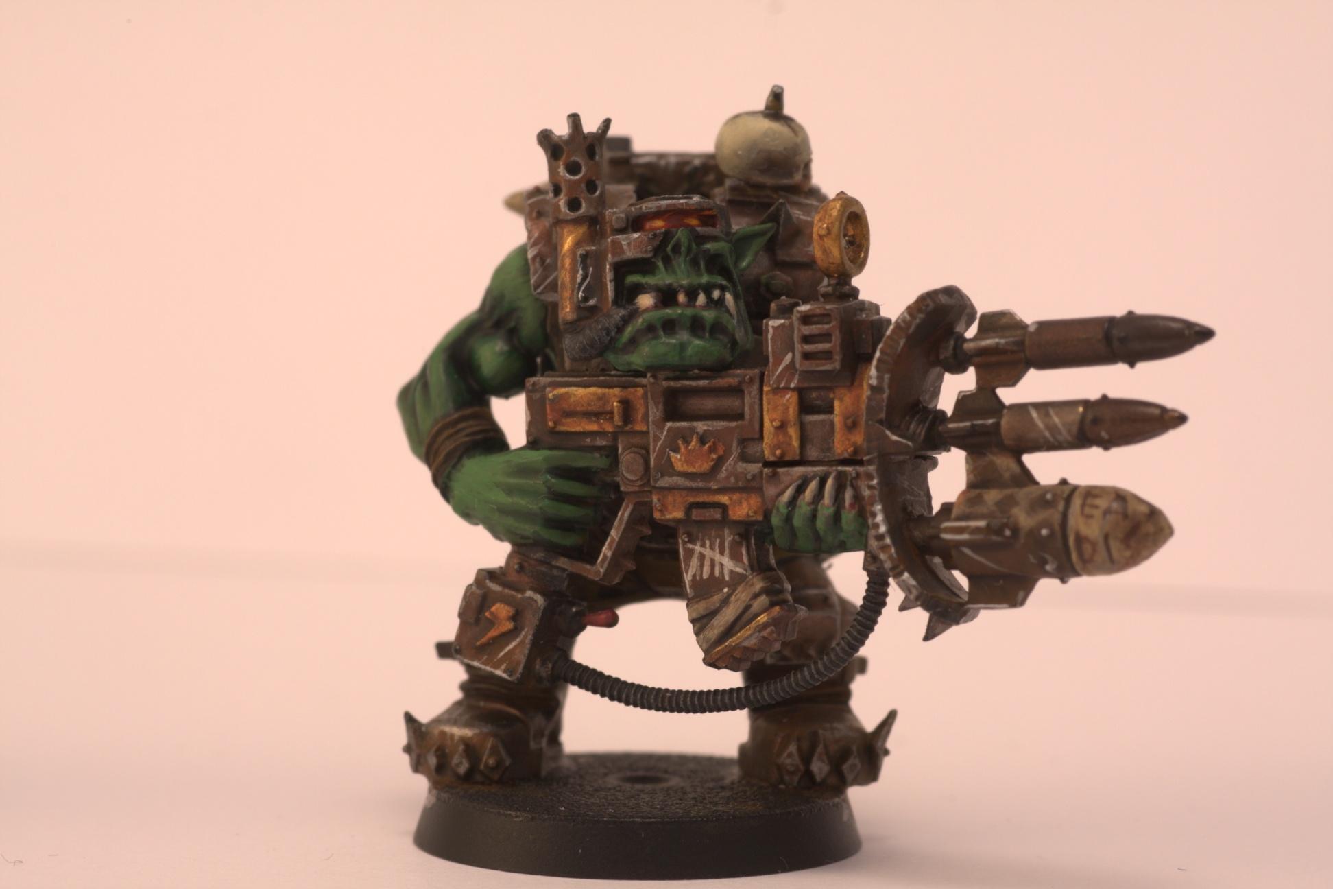 Nob, Orks, Rusty, Tankbustas, Warhammer 40,000