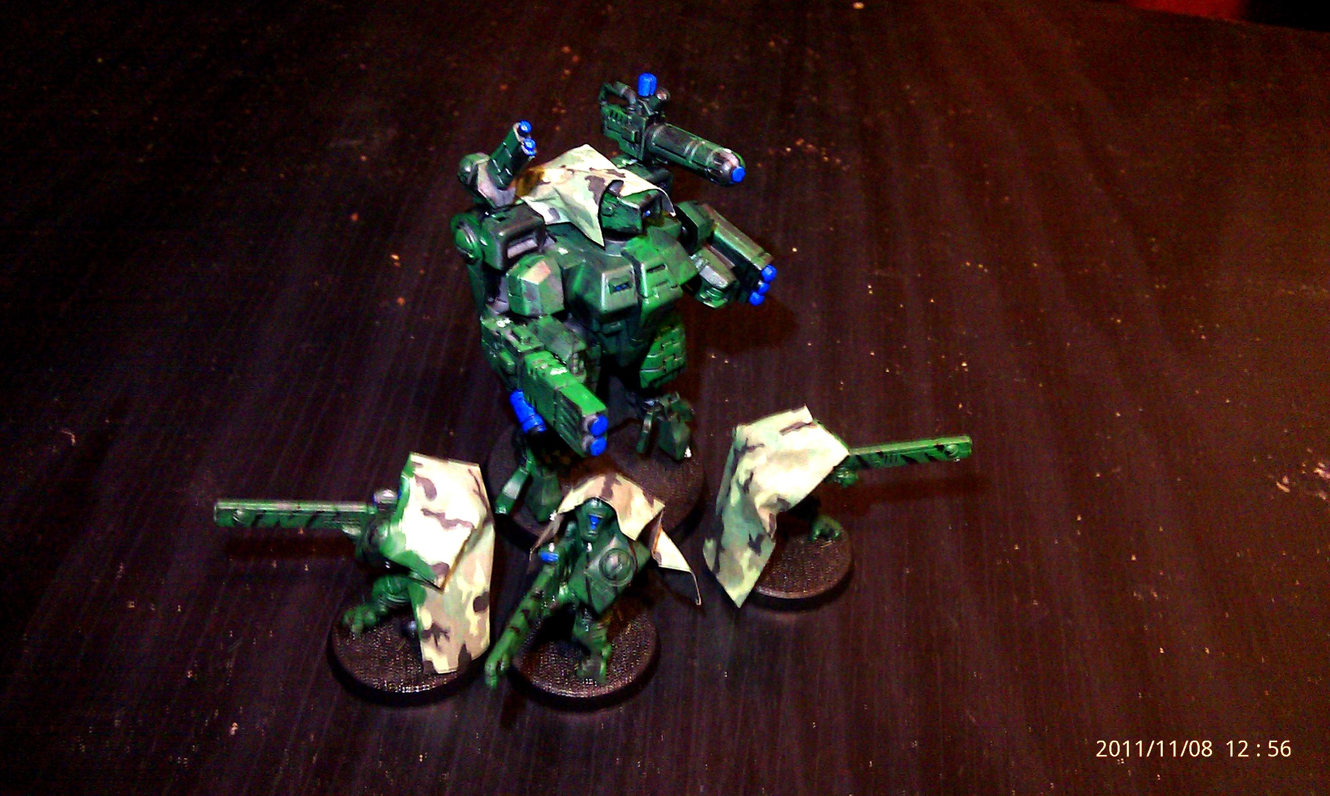 Camouflage, Crisis Battlesuit, Fire Warriors, Tau Empire, Warhammer 40,000