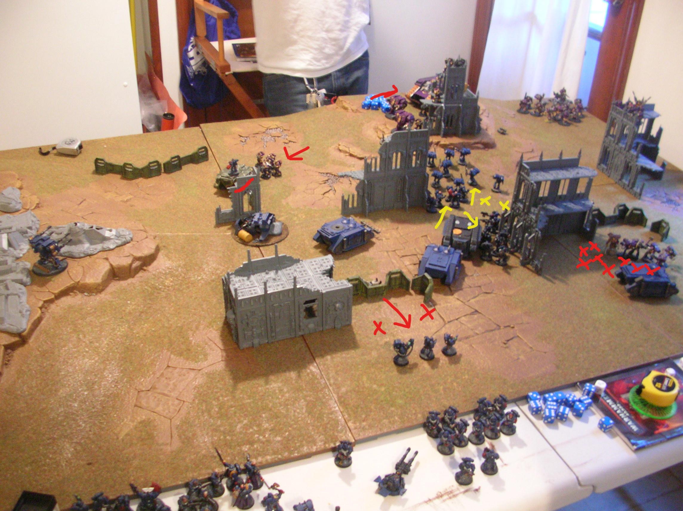 Battle Report, Crimson, Crimson Fists, Fists, Space Marines