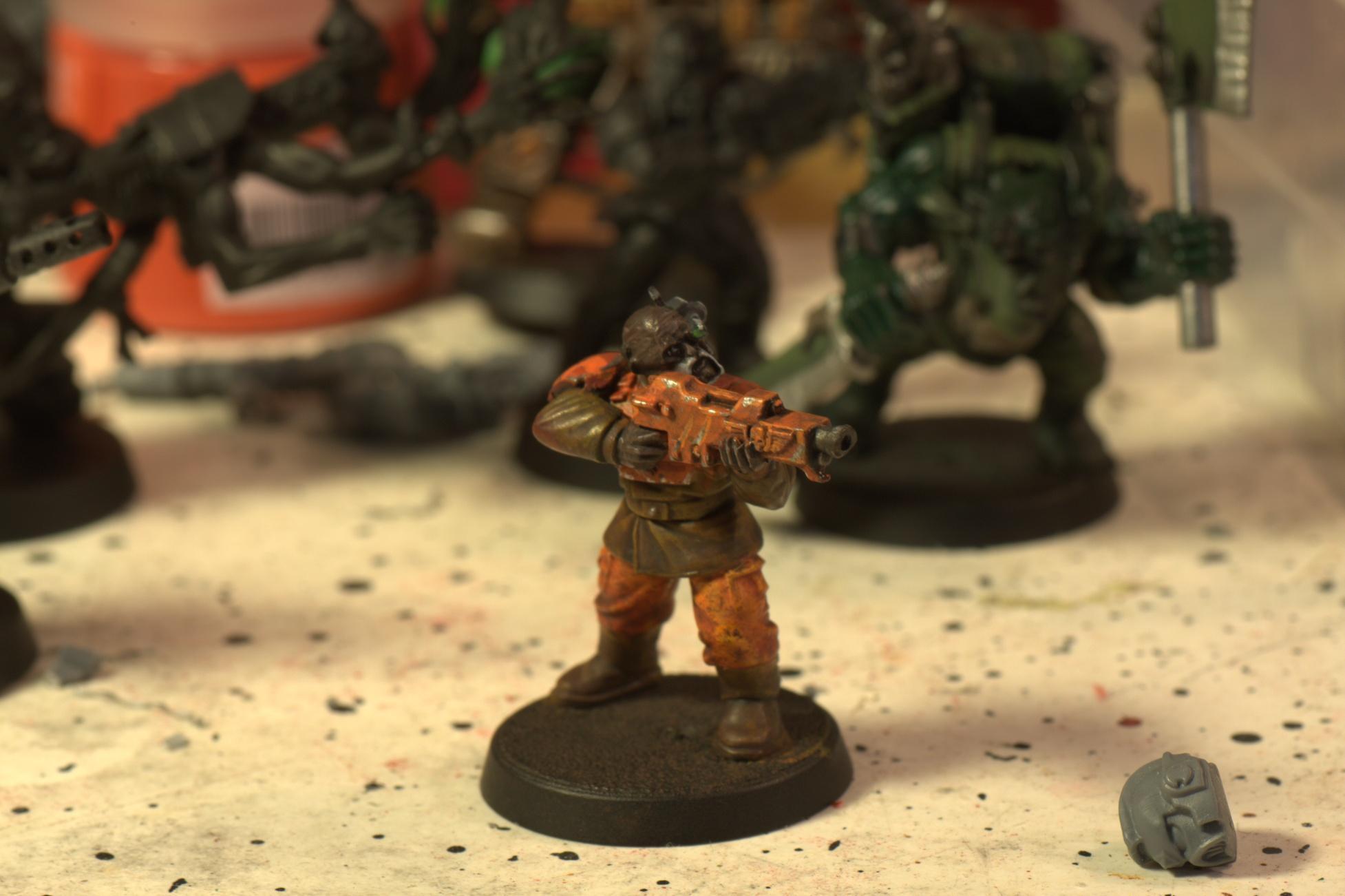 Imperial Guard, Orange, Shotgun, Veteran
