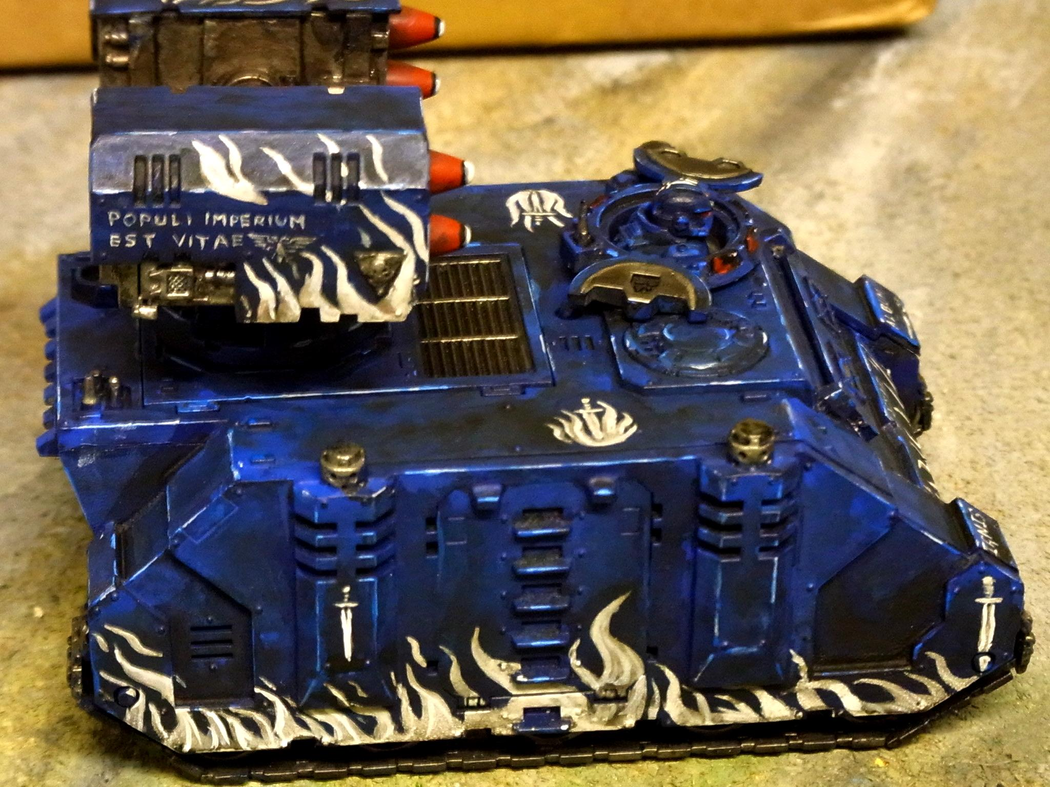Freehand, Space Marines, Whirlwind, White Swords