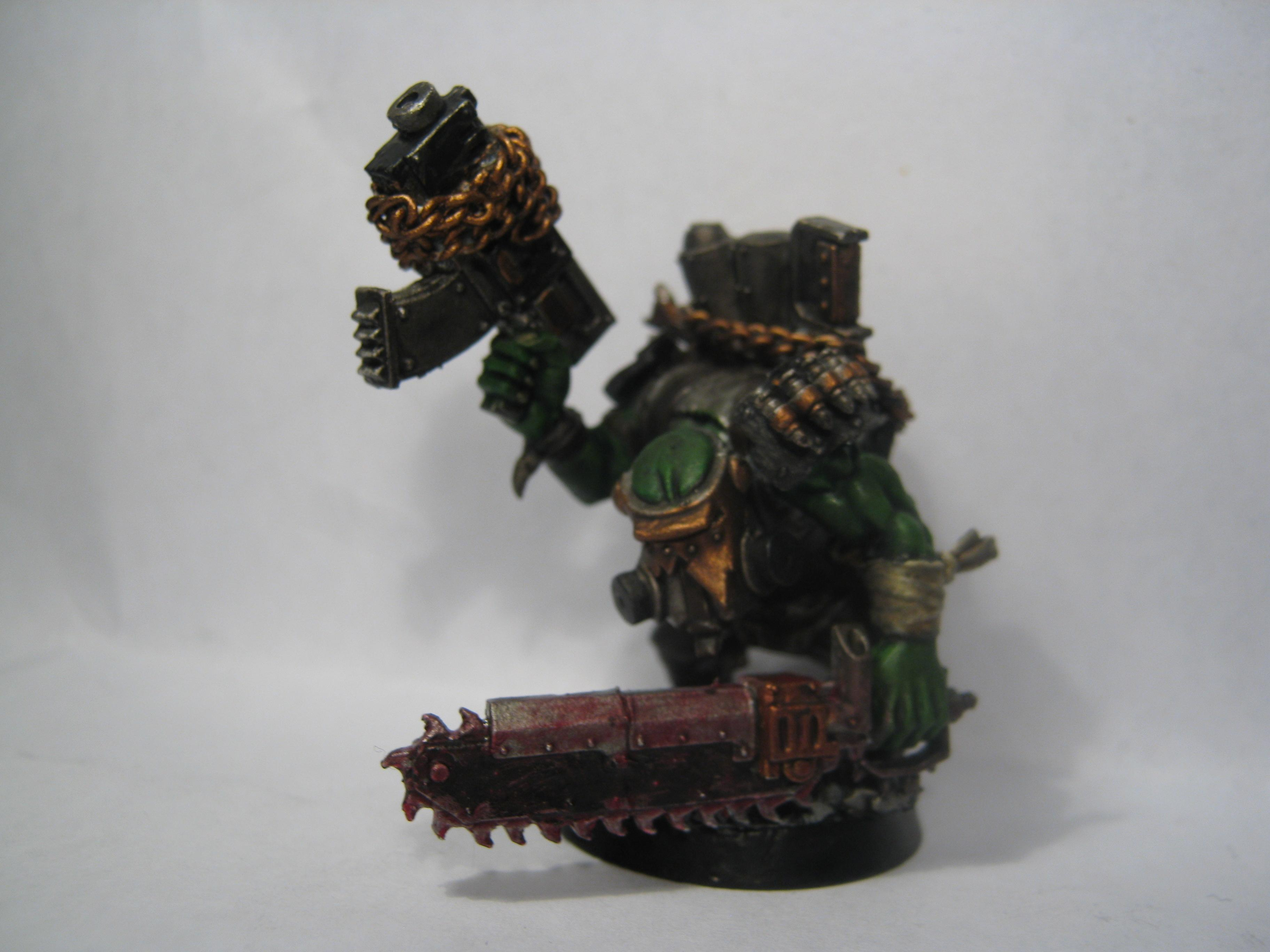 Gas Mask, Gore, Kommando, Orks, Waaagh Dakka, Warhammer 40,000