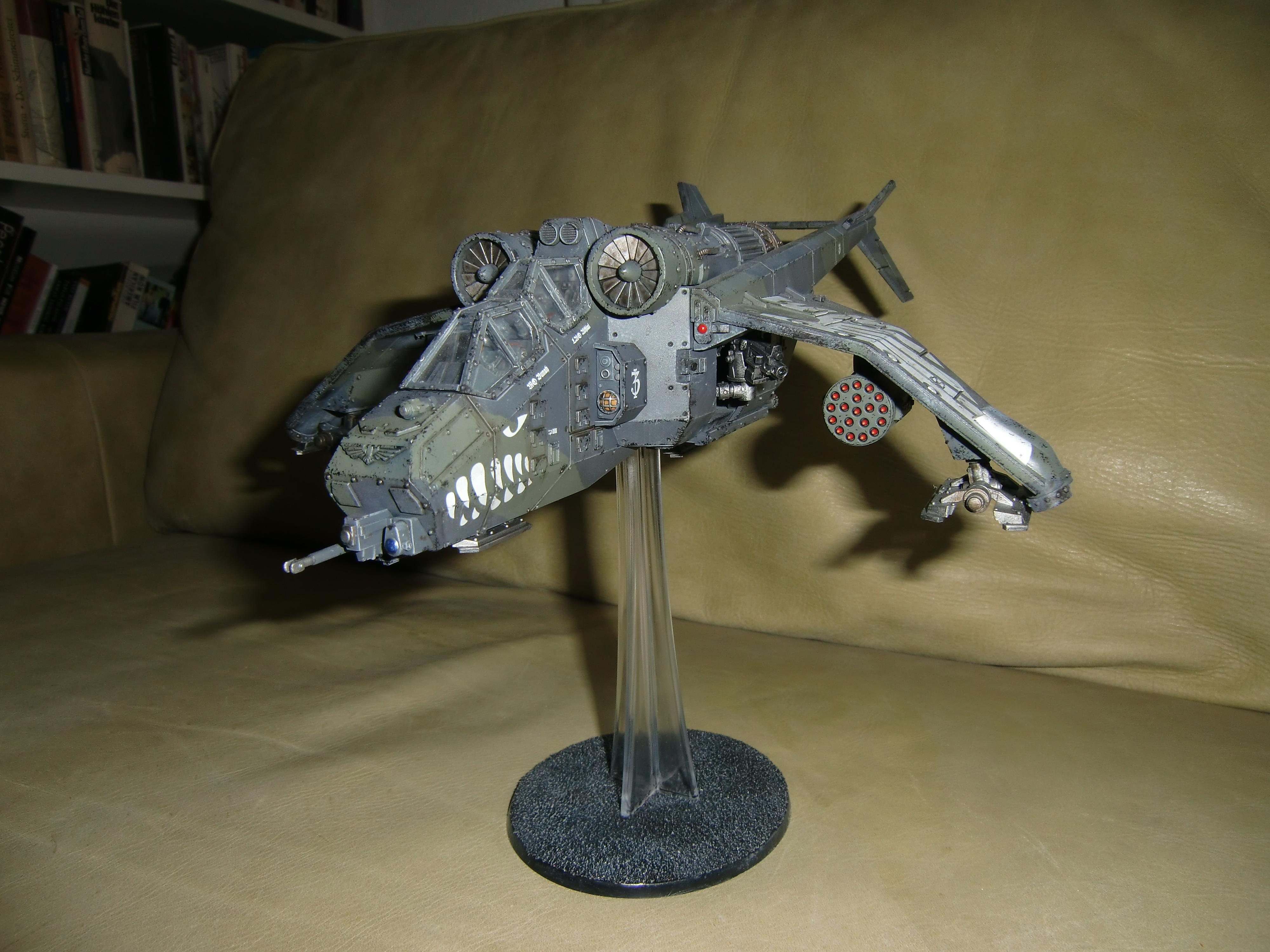 Airbrush, Forge World, Imperial Army, Imperial Guard, Valkyrie, Warhammer 40,000