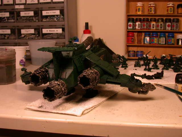 Dark Angels, Forge World, Space Marines, Thunderhawk, Warhammer 40,000