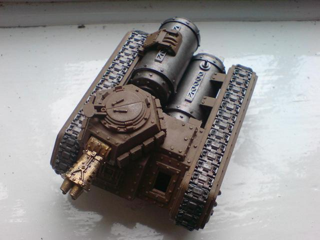 Front View. Finished modelling, but before highlighting