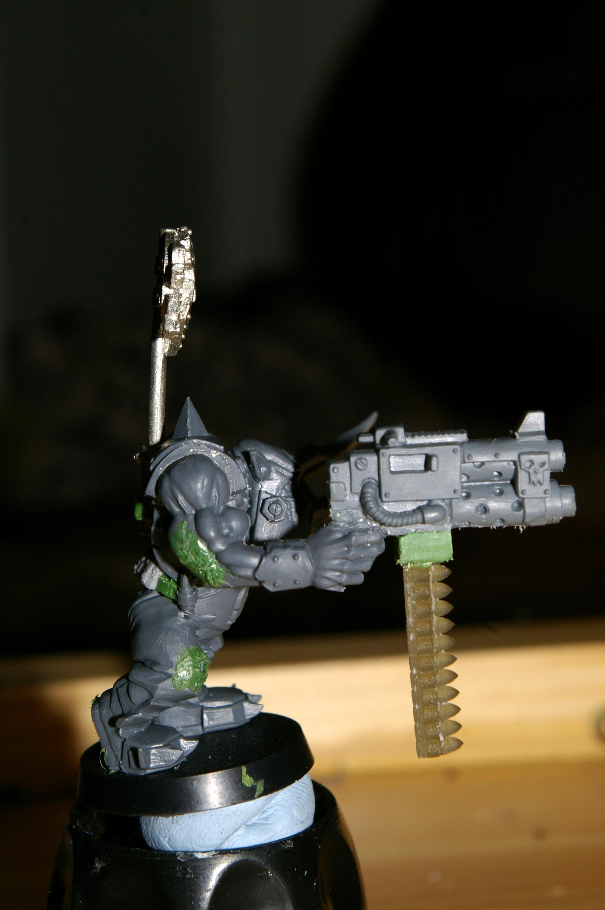 Ork Nob Power Claw, Ork boyz nob 1 side