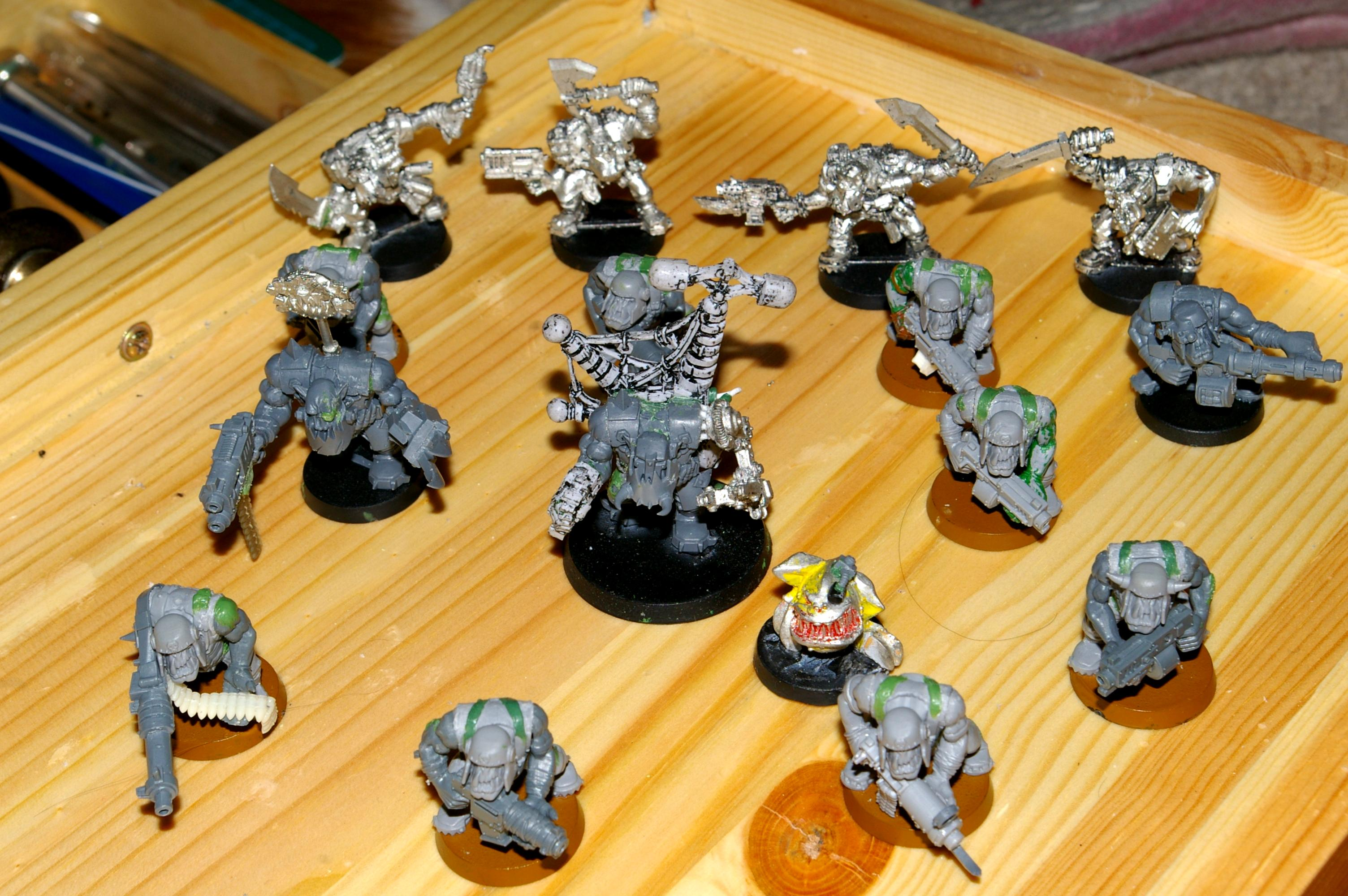 Army, Boy, Orks, Waaagh, Work In Progress