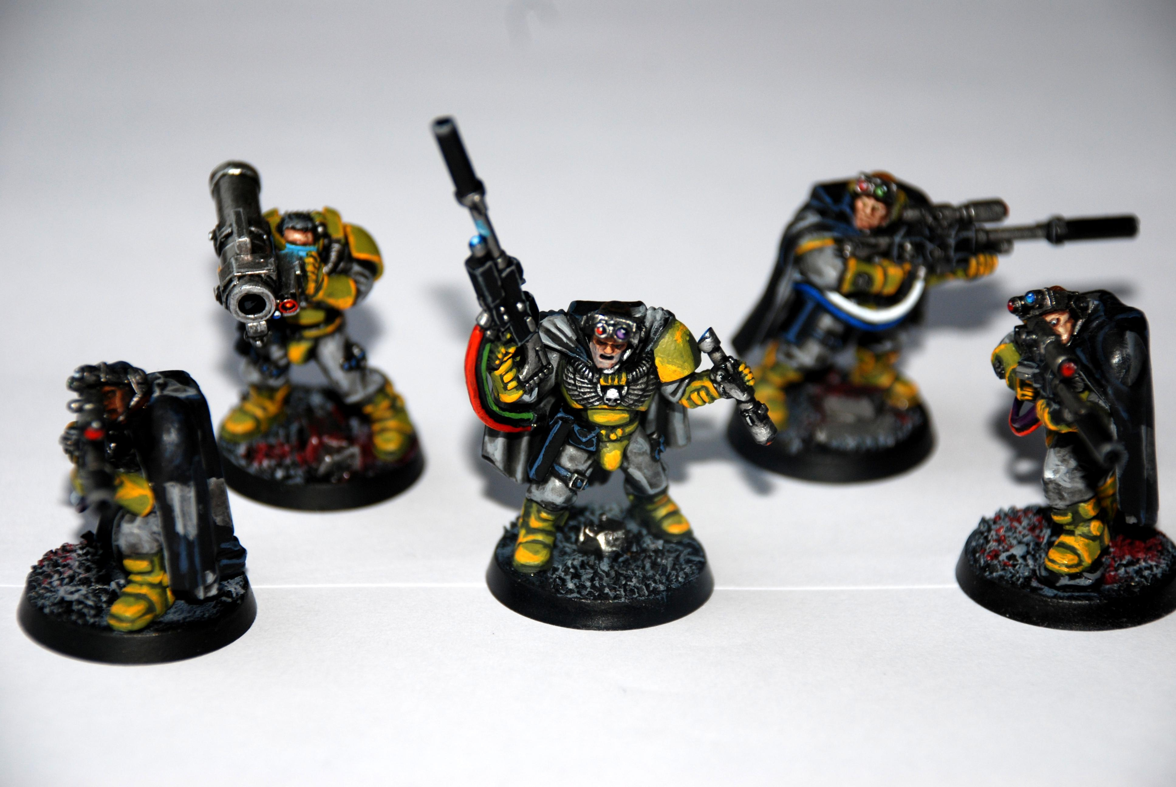 Camo Cloak, Painted, Scouts, Snipers, Space Marines, Warhammer 40,000