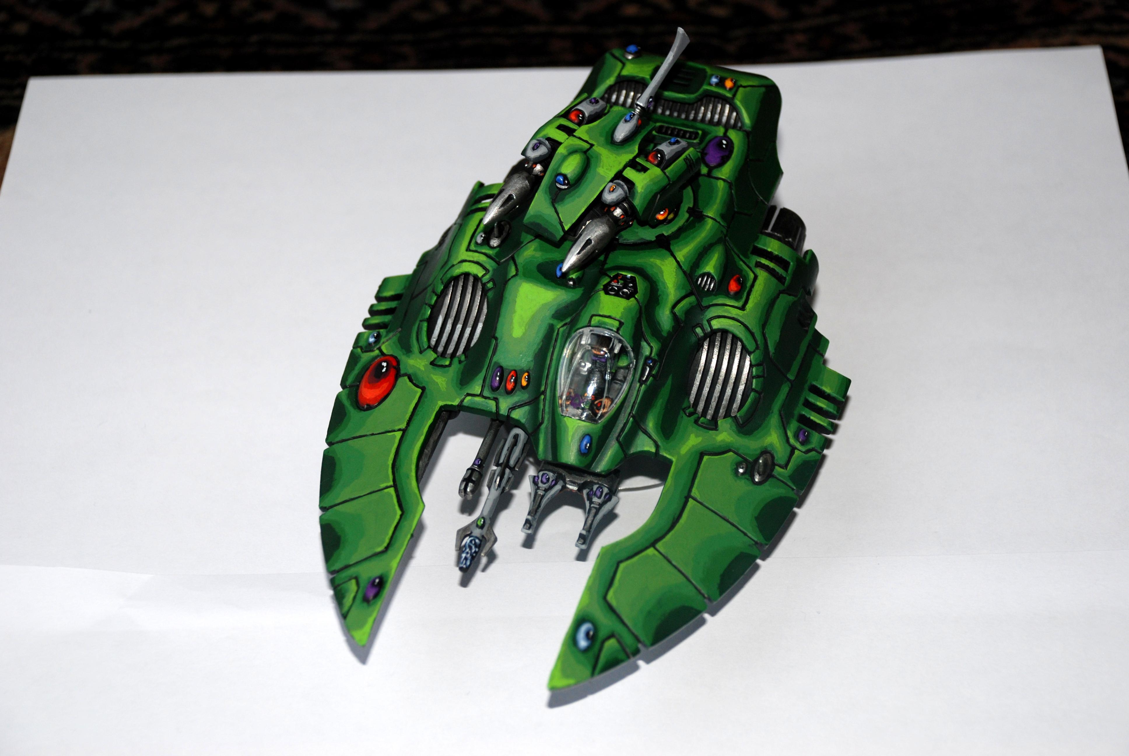 Blending, Eldar, Green, Painted, Transport, Warhammer 40,000, Wave Serpent