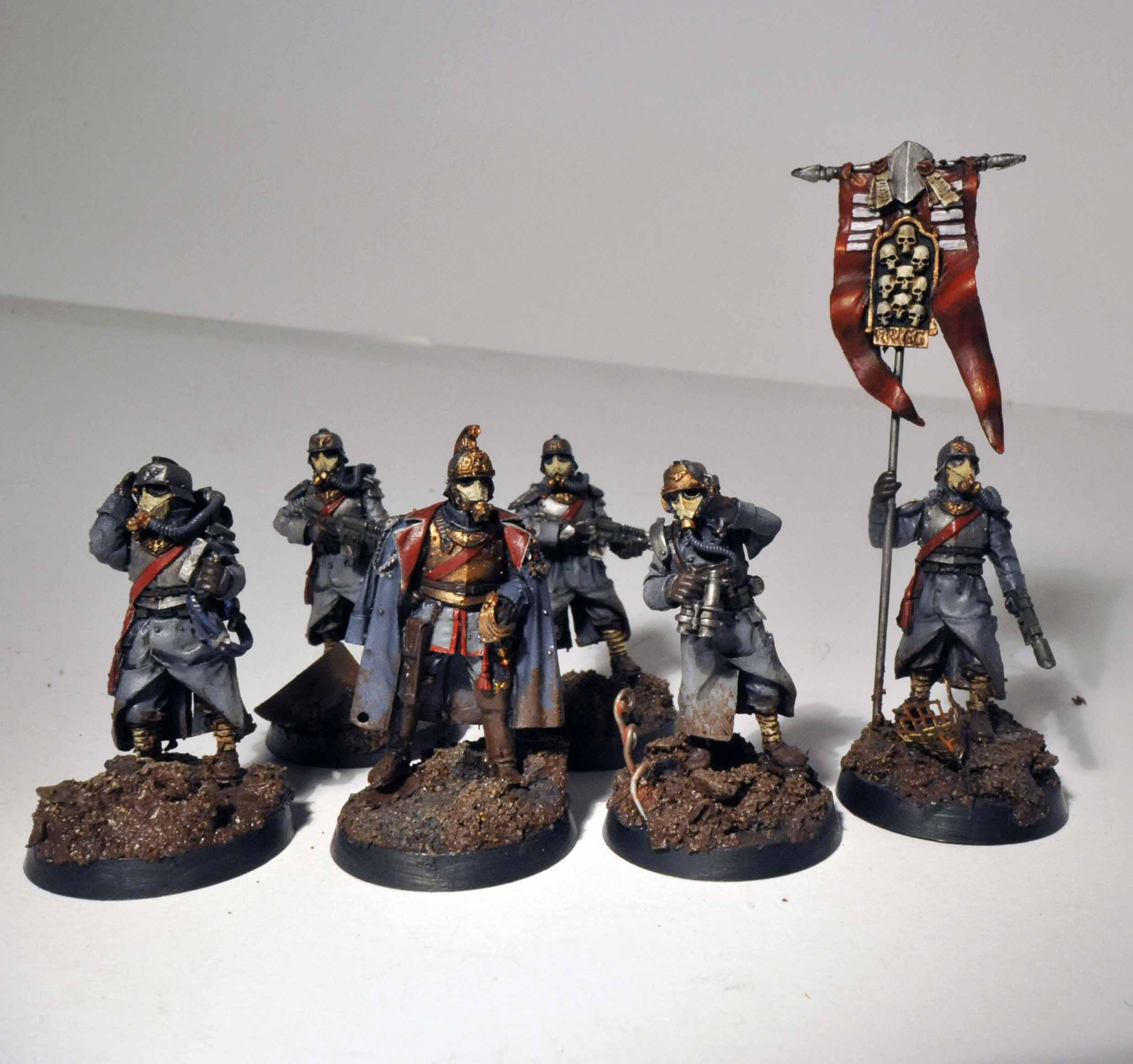 Ccs, Command, Company Command Squad, Death, Death Korps of Krieg, Forge, Forge World, Headquarters, Imperial, Imperial Guard, Korps, Kreigs, Lasgun, Master Of Ordnance, Squad, Warhammer 40,000