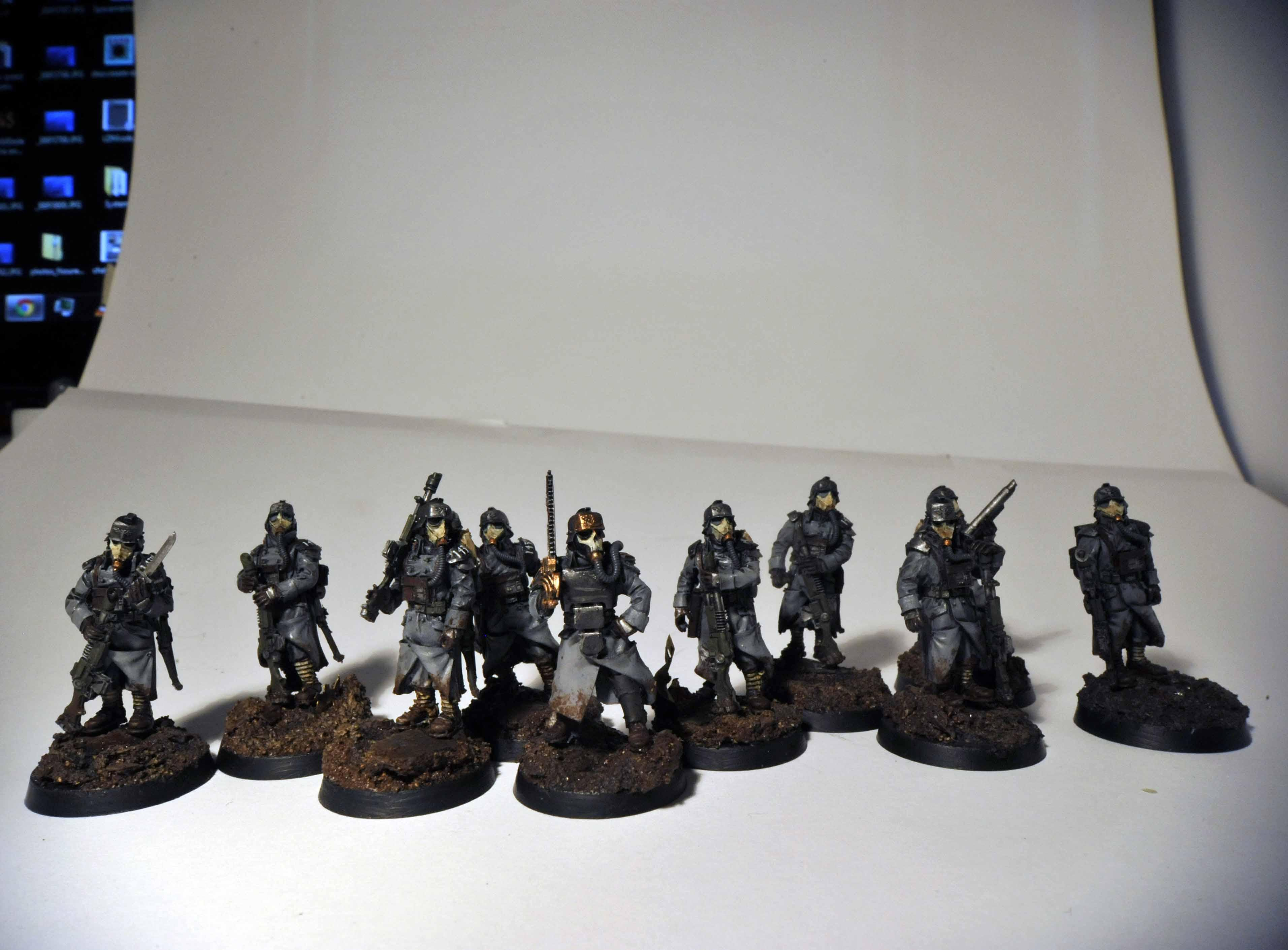 Death, Death Korps of Krieg, Forge, Forge World, Imperial, Infantry Squad, Korps, Kreigs, World