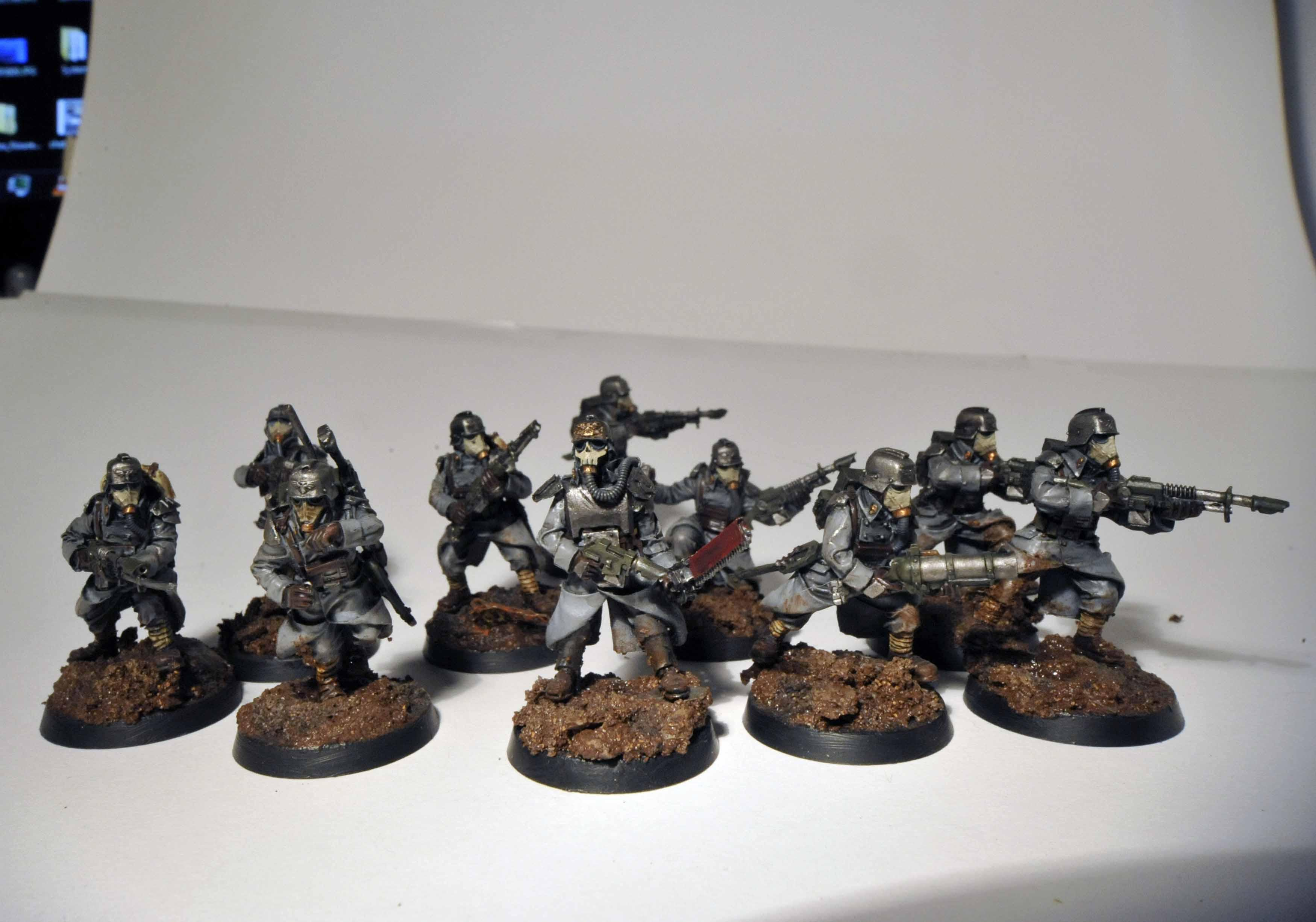 Death, Death Korps of Krieg, Forge, Forge World, Imperial, Infantry Squad, Korps, Kreigs, World
