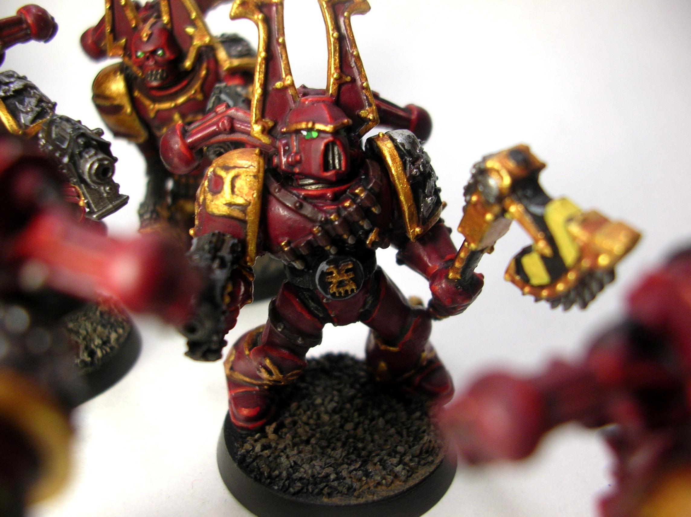 Iron Warriors, Khorne, Khorne Berserkers, Warhammer 40,000